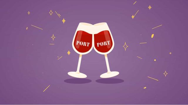 Brindamos com o emoji Vinho do Porto?