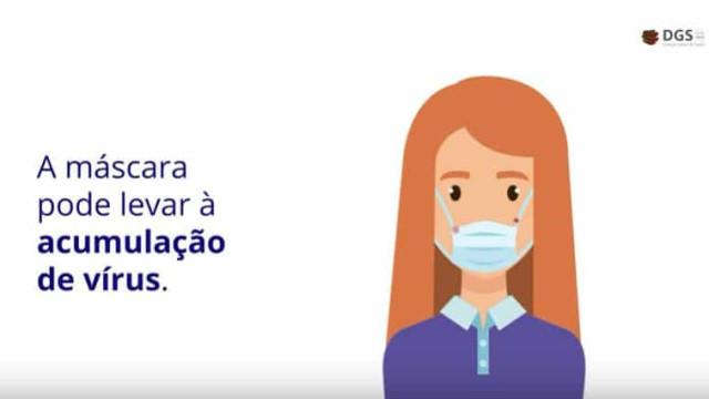 Covid-19. DGS explica em vídeo como se prevenir e proteger