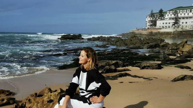 """Após foto sensual, Cristina Ferreira sem maquilhagem... e """"mais vestida"""""""