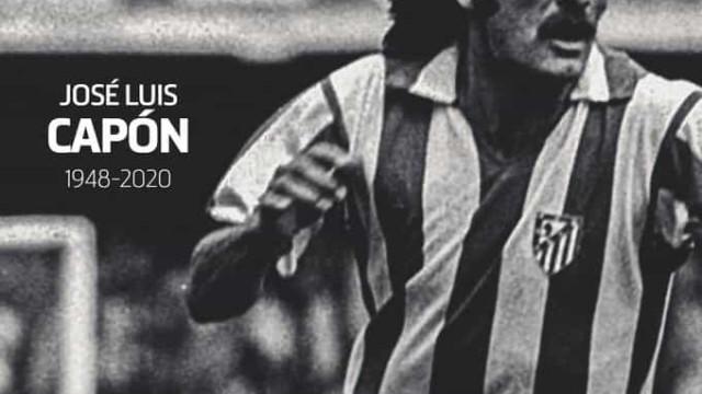 Morreu ex-jogador do Atlético de Madrid por Covid-19