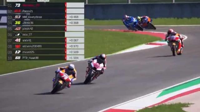 Miguel Oliveira acelerou e foi assim a primeira corrida de MotoGP virtual