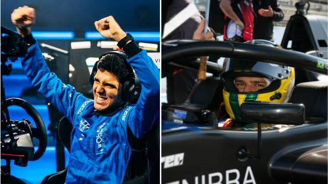 Dos videojogos para a Formula 3: Igor Fraga é a nova promessa da Red Bull