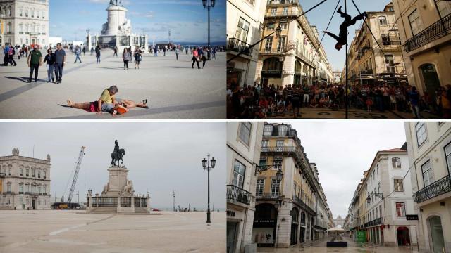 A diferença da Lisboa de sempre e a Lisboa de hoje (em emergência)