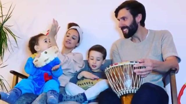 Marta Andrino e Frederico Amaral 'criam' música para quarentena