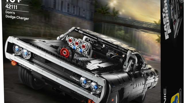 LEGO e Universal aliam-se para recriar carro icónico de 'Fast & Furious'