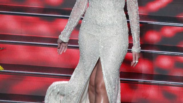 Georgina Rodríguez e a estreia como apresentadora: O vídeo dos bastidores
