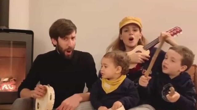 Marta Andrino e Frederico Amaral: A nova 'música' da família