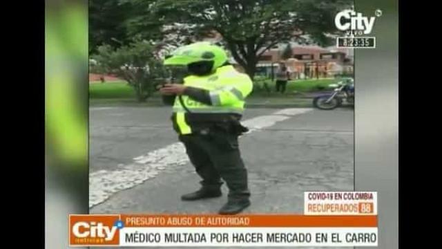 Polícia multa médica que tentava ir às compras após turno de trabalho