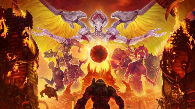 'Doom Eternal'. O clássico atingiu um novo patamar de qualidade