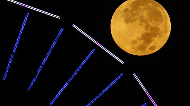 Super Lua Cheia. Fenómeno começa ao final da tarde