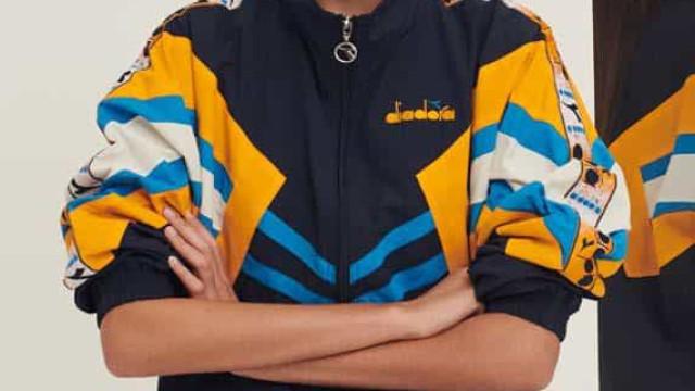 Diadora convida a desfilar em casa com modelos inspirados nos anos 90