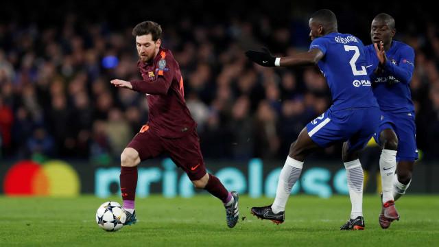 """""""Nunca pensei que o Messi me fosse pedir a camisola"""""""