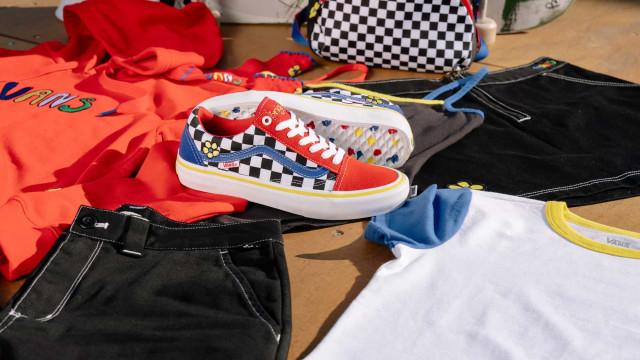VANS. Brighton Zeuner lança a sua primeira coleção de vestuário e calçado