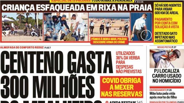 Hoje é notícia: Centeno gasta reservas; Multa para maus-tratos a animais