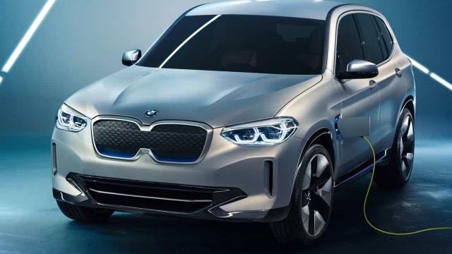 BMW aponta início de produção do iX3 para o verão