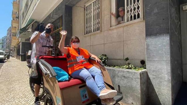 Associação leva 'Conversas à Janela' a idosos de Lisboa