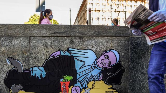 'Papa Francisco sem-abrigo' alerta para a pobreza gerada pela pandemia