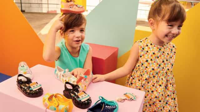 Alerta miúdos! Melissa une-se à Turma do Pudim para uma coleção deliciosa