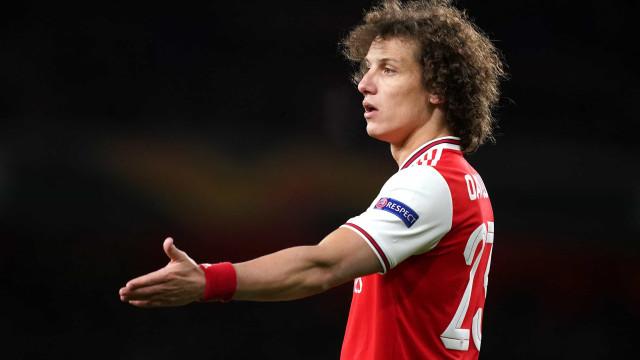 David Luiz prestes a deixar Arsenal a 'custo zero'