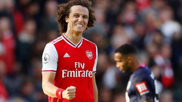 """David Luiz confirma contactos: """"Sonho terminar a carreira no Benfica"""""""