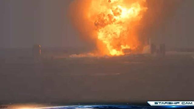 SpaceX. Teste resulta em explosão de mais um protótipo de nave