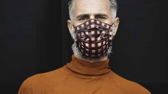 Gio Rodriguez apresenta máscaras cheias de estilo aprovadas pelo CITEVE