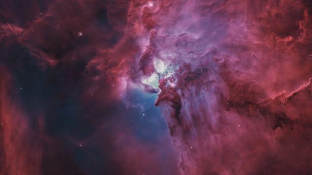 Foi com esta imagem que a NASA iniciou a semana