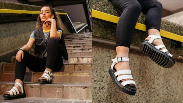 Blaire Hydro. Dr Martens apresenta a nova sandália sensação
