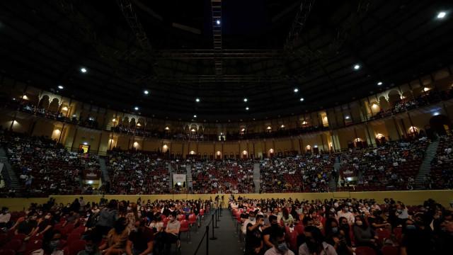 Bruno Nogueira 'desconfinou' em concerto com primeiro-ministro a assistir