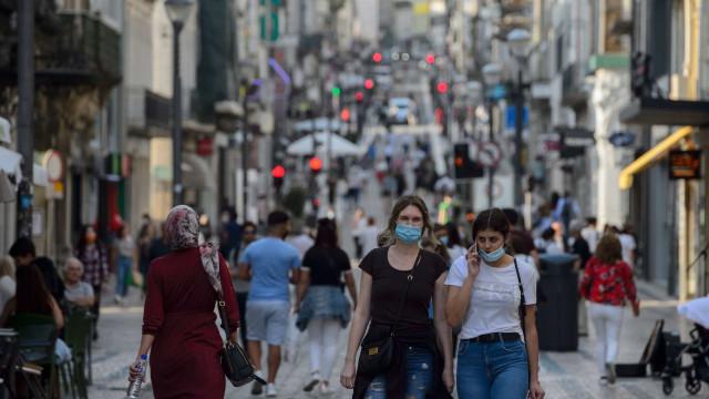 Covid-19. Mais 366 infeções e 11 mortes desde ontem em Portugal