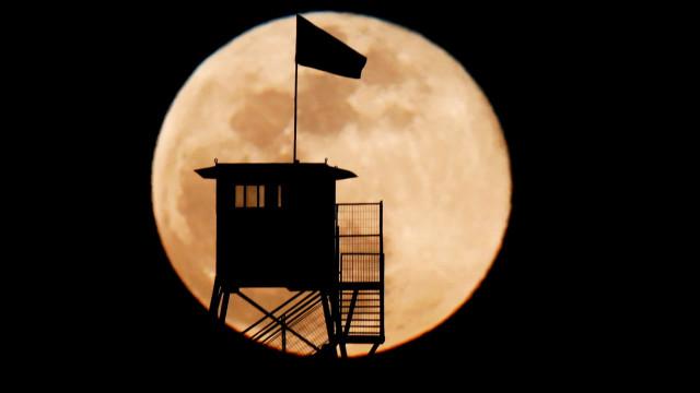 Semana termina com um Eclipse Penumbral da Lua
