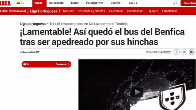 Da Alemanha ao Brasil: Benfica nas bocas do mundo... pelas piores razões