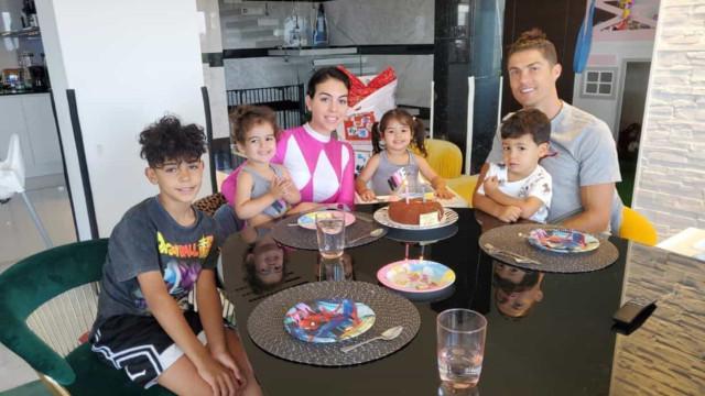 Vídeos: Georgina Rodríguez mostra novas imagens da festa dos gémeos