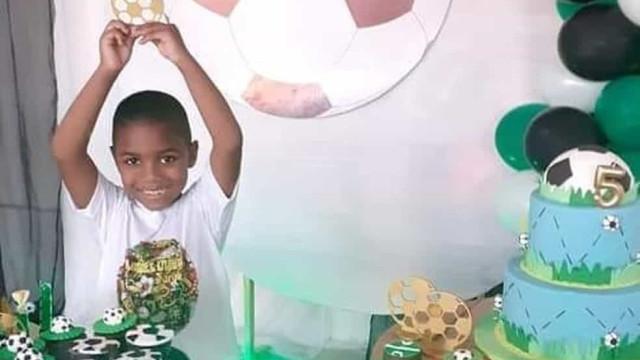 Miguel, o menino que caiu do 9.º andar de um prédio no Brasil