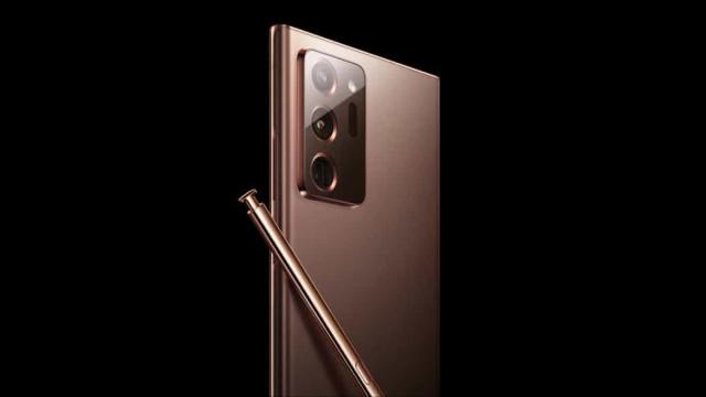 Imagens do Galaxy Note 20 revelam nova cor do topo de gama