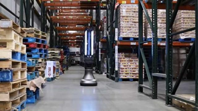 Covid-19: MIT cria robot capaz de desinfetar armazéns em 30 minutos