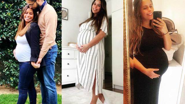 As fotografias da primeira gravidez de Diana Baía Pinto
