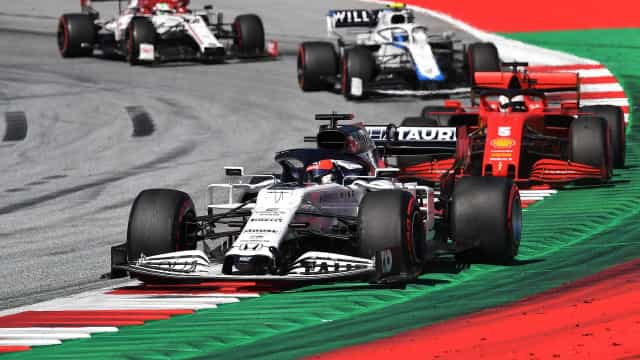 Saiba os horários para o Grande Prémio da Estíria em F1