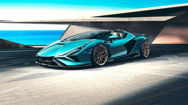 Aí está o novo Lamborghini Sián Roadster... que já esgotou