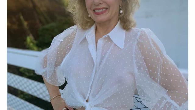 Os looks de quarentena da atriz Vera Fischer