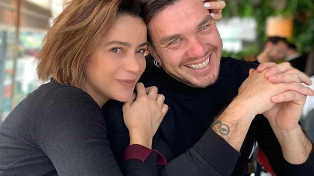 Rita Ferro Rodrigues e o marido Ben em fim de semana romântico