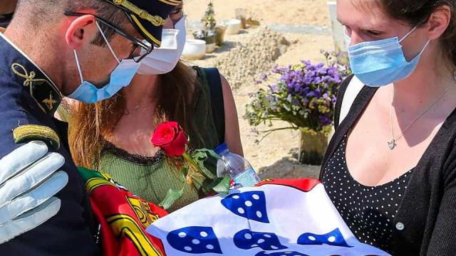 GNR presta última homenagem a militar que morreu após acidente na A1