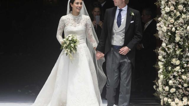 Príncipe Christian de Hannover e Alessandra de Osma foram pais
