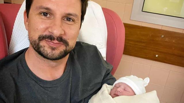 Hugo Sousa foi pai pela primeira vez e mostra fotos da bebé