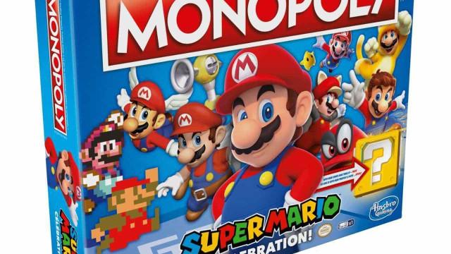 'Super Mario' terá direito a versões especiais de Monopólio e Jenga