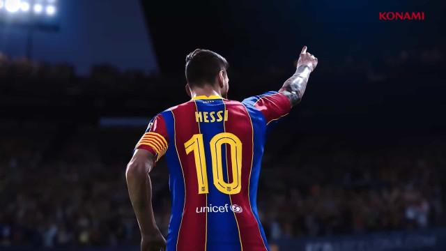 'eFootball PES 2021' chegará como atualização. Veja o trailer