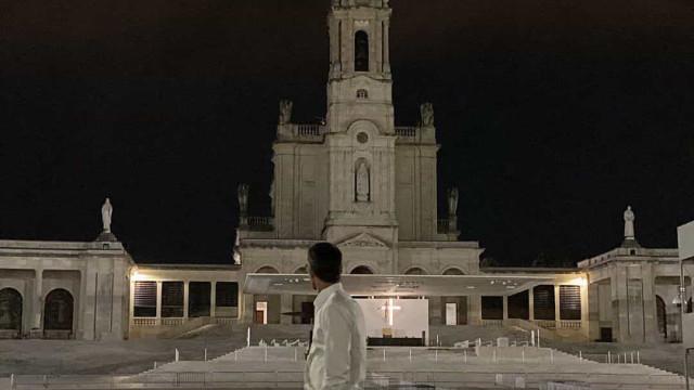 Depois da grande final, Cláudio Ramos rumou até ao Santuário de Fátima