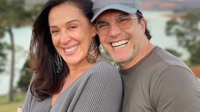 "Marido de Cláudia Raia celebra 50 anos: ""És o meu lugar de amor"""