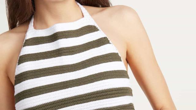 Tendência de verão: Tezenis apresenta tops em crochet