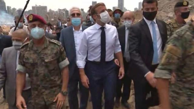 "Macron quer ""organizar a ajuda internacional"" ao Líbano e pede reformas"